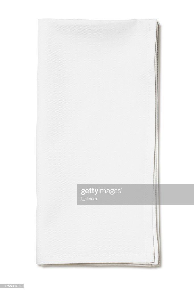 White napkin : Stock Photo