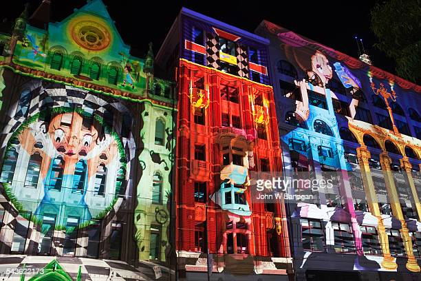 White night Festival, Melbourne, Australia