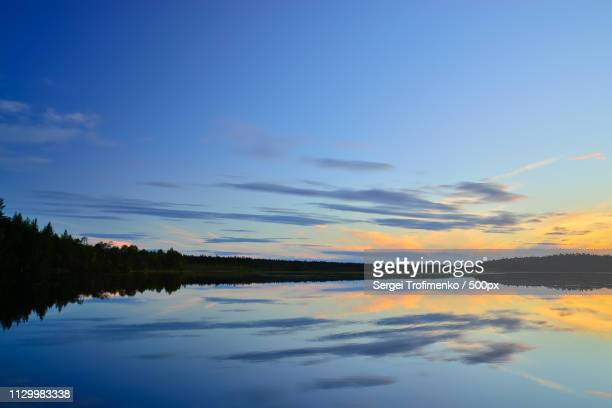 white nights northern karelia, russia - sergei stock pictures, royalty-free photos & images