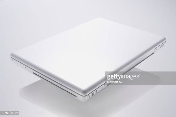 white notebook - laptop mockup stock photos and pictures