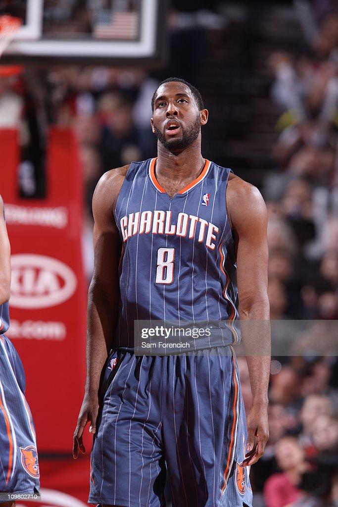 Charlotte Bobcats v Portland Trail Blazers