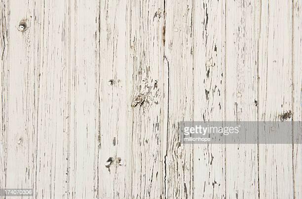 Weißer Farbe auf alten Holz