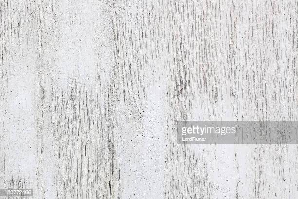 White painted weathered wood