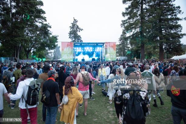 White Panda performs live on stage during BottleRock Napa Valley at Napa Valley Expo on May 25 2019 in Napa California