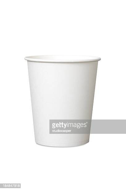 white paper cup - disposable cup stock pictures, royalty-free photos & images
