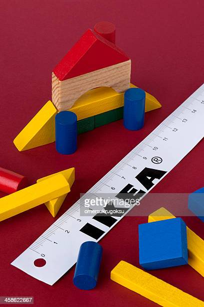 ikea white paper ruler - ikea stock pictures, royalty-free photos & images