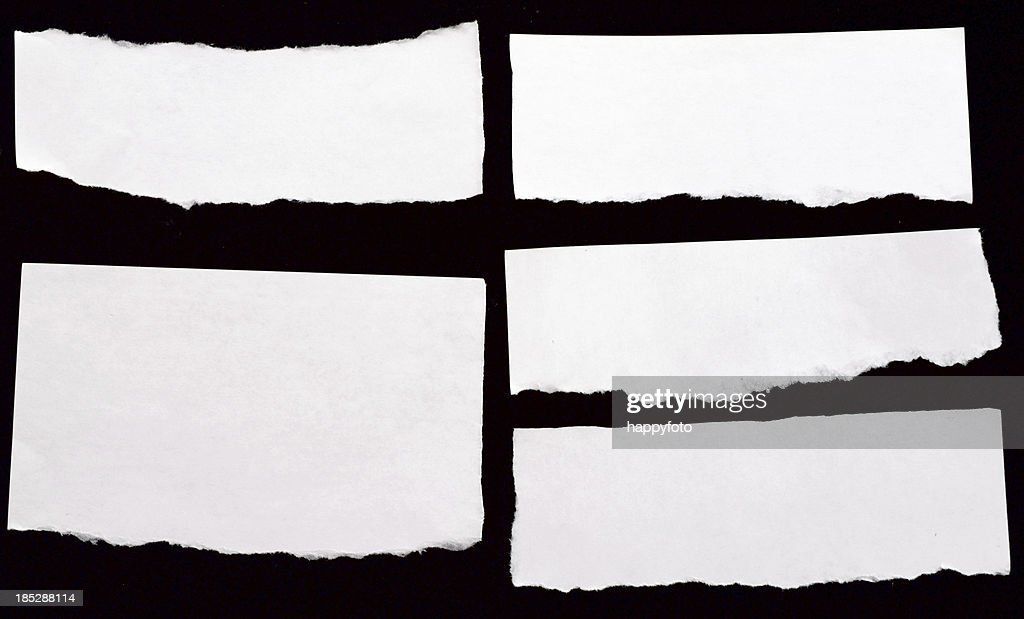 white papers : Stock Photo