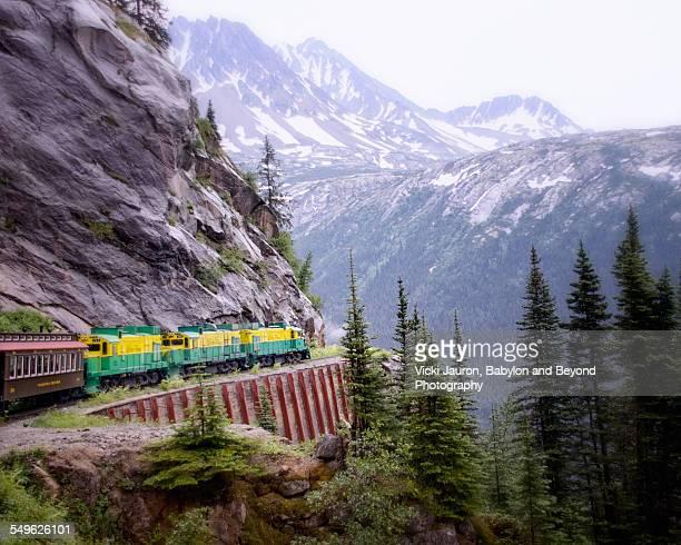 White Pass and Yukon Railroad in Alaska
