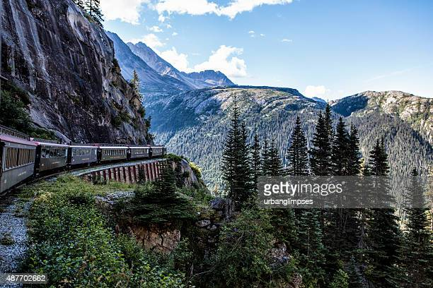 White Pass and Yukon RR Traveling to Skagway, Alaska
