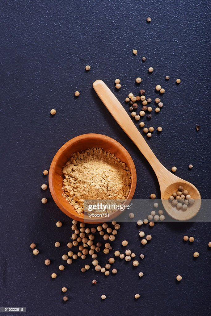 white pepper : Stockfoto