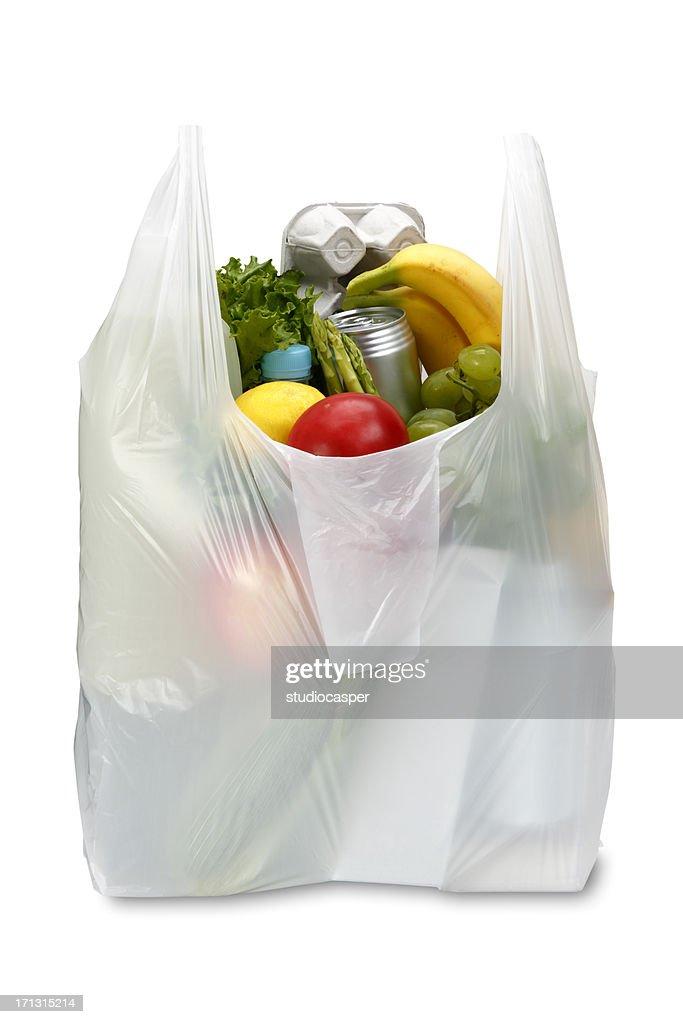 Supermarket Polyethylene Plastic Bags Grocery Food 28x50 0,015 White 200pcs