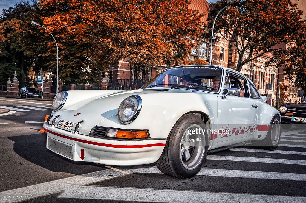 White Porsche 911 Carrera Rs 27 High Res Stock Photo Getty Images