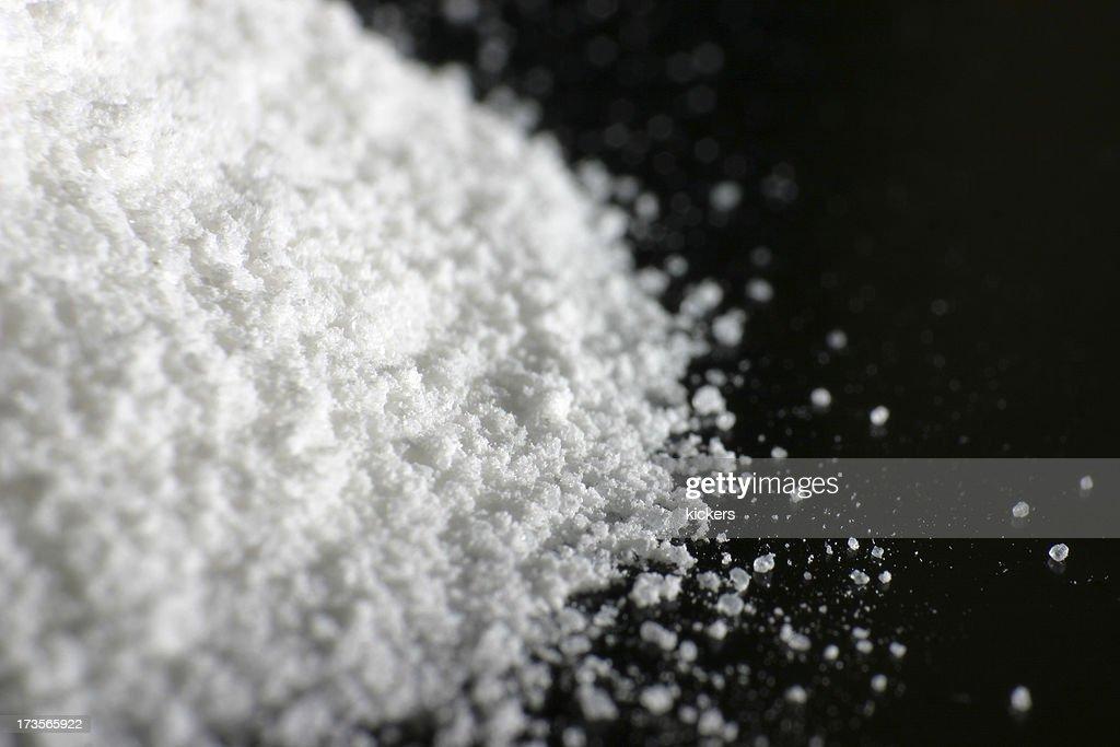 White powder : Stock Photo