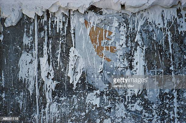 White Putty on Wall