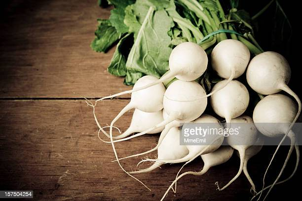 white radish - dikon radish stock photos and pictures