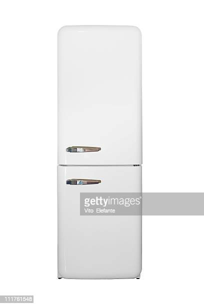 white Refrigerator isolated