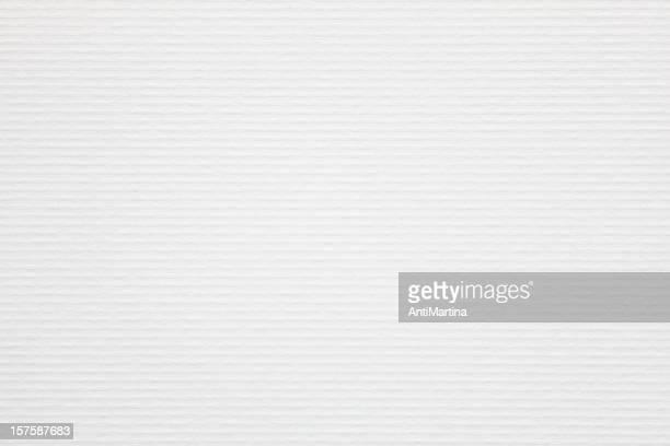 Fond blanc papier à bords-côtes.