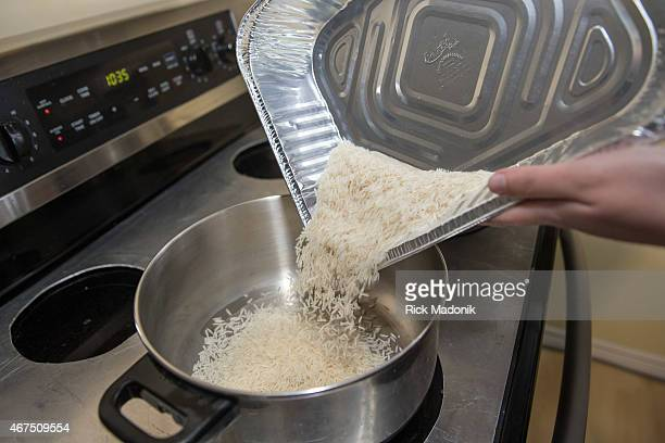 THORNHILL MARCH 25 White rice is added to water to make the bed in which the curry stew will sit Lamb curry for Passover is not a dish well known but...