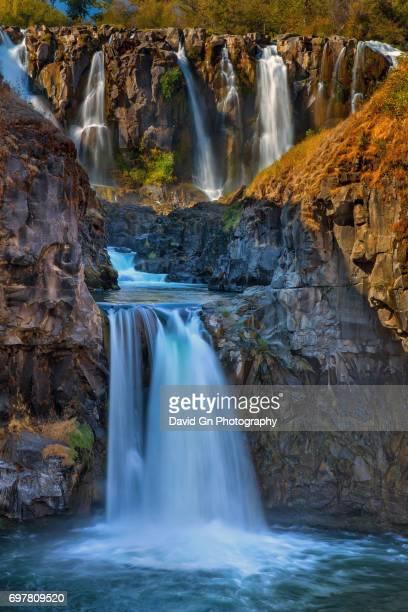 White River Falls State Park in Oregon