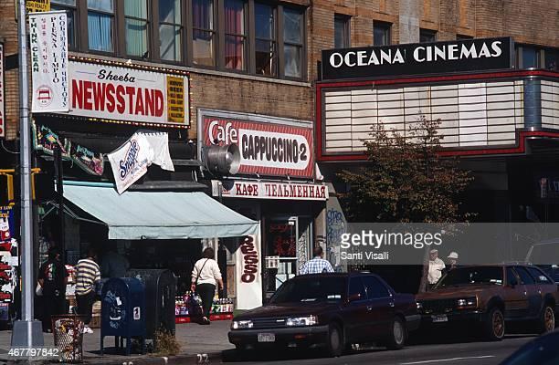 White Russians Oceana cinema on June 81988 in Brighton Beach New York