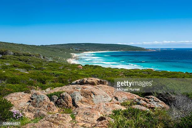 White sand beach and turquoise water, near Margaret River, Western Australia