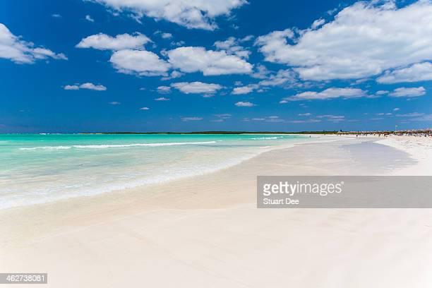 White sand beach, Cuba