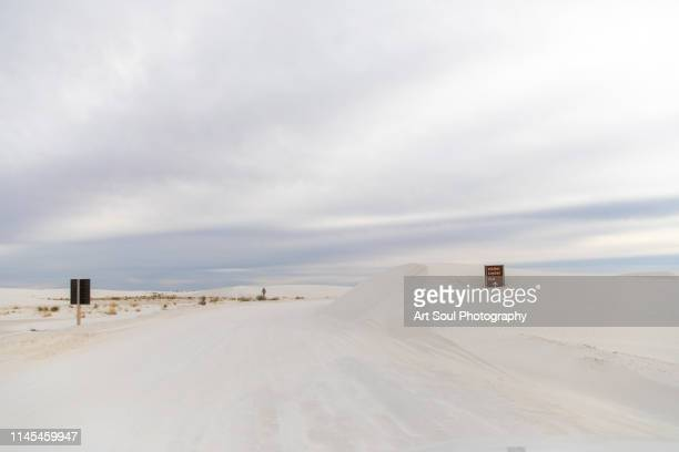 white sands national monument - las cruces new mexico stock pictures, royalty-free photos & images