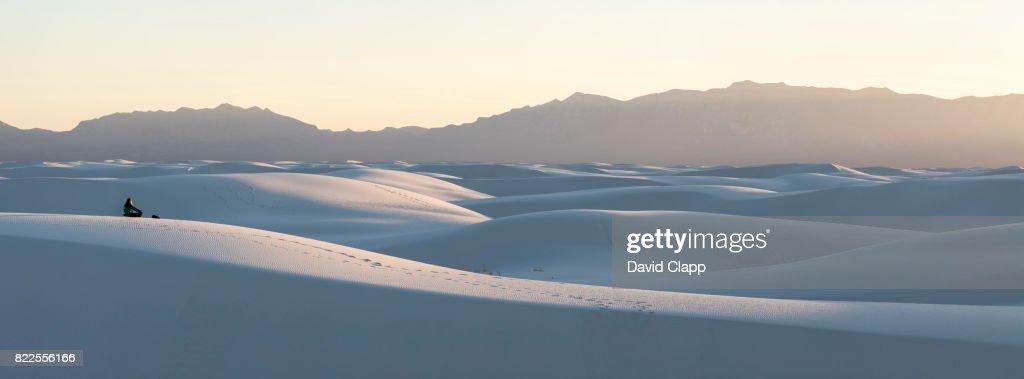 White Sands NM, New Mexico, USA : Stock Photo