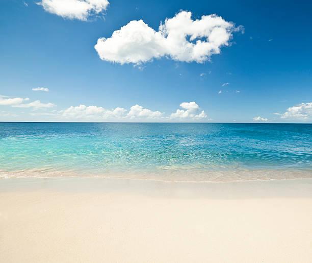 White Sandy Caribbean Beach