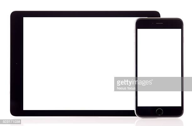 White screen iPad Air and iPhone 6 Plus