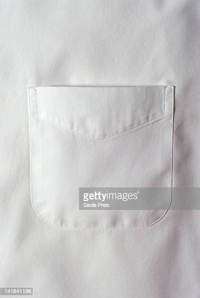 white shirt pocket - pocket stock pictures, royalty-free photos & images