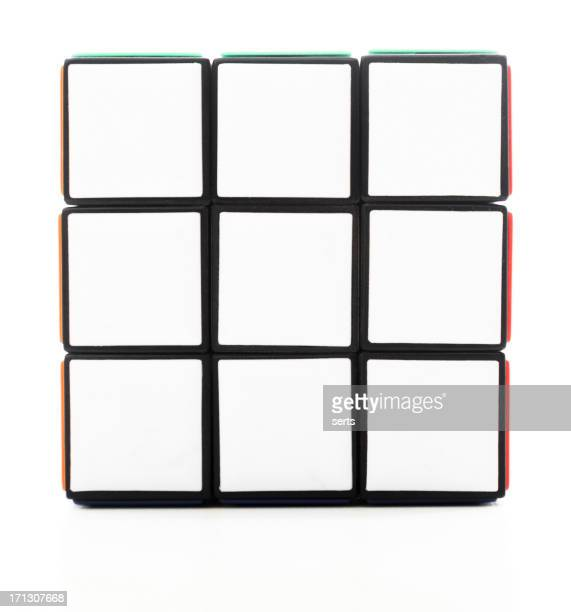 Blanco lado de Rubik's Cube
