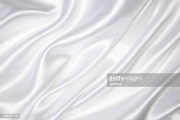 white silk texture - white satin stock photos and pictures