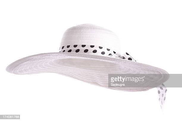 white sun hat - sun hat stock pictures, royalty-free photos & images