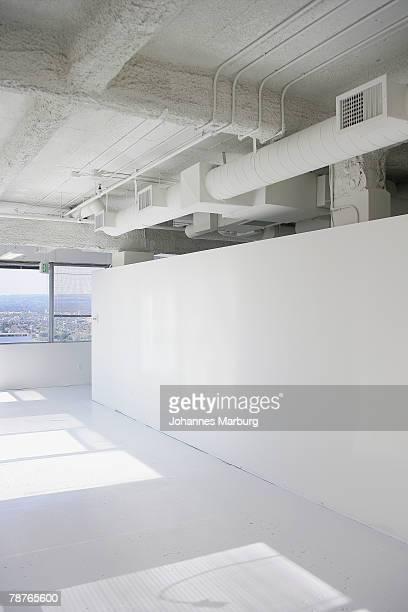 White sunlit room