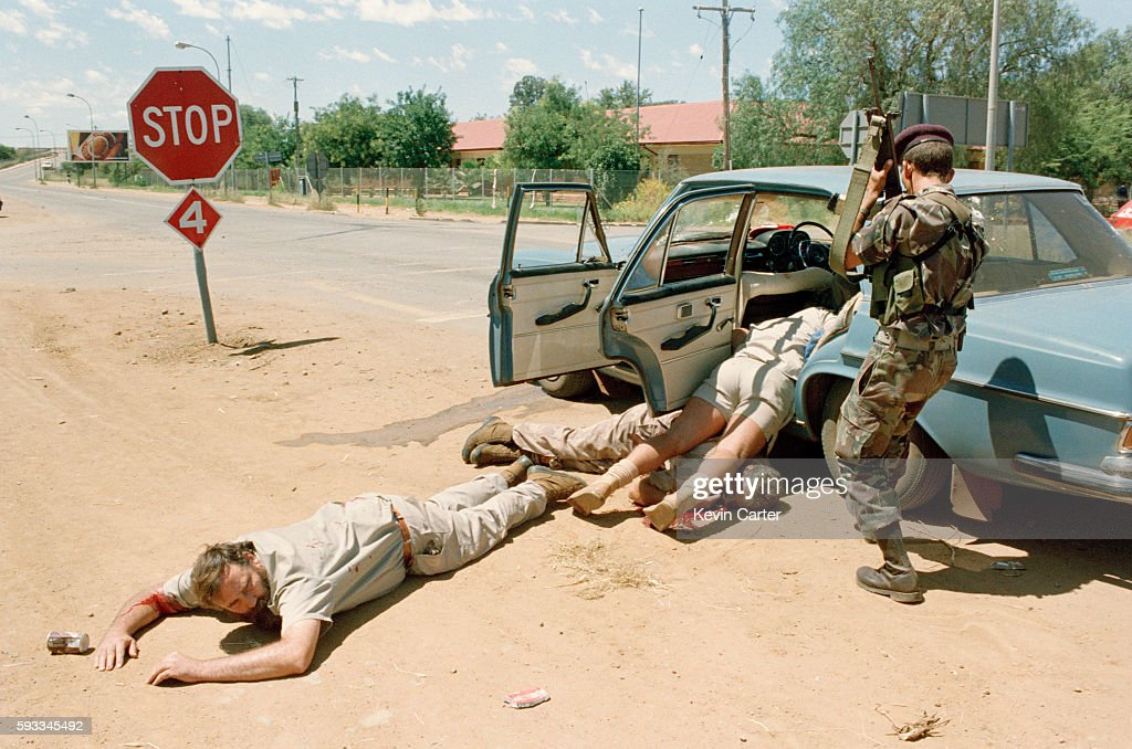 Bophuthatswana Coup d'Etat : News Photo