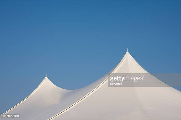 white tent top