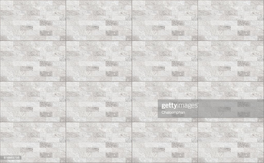 White tile texture : Stock Photo