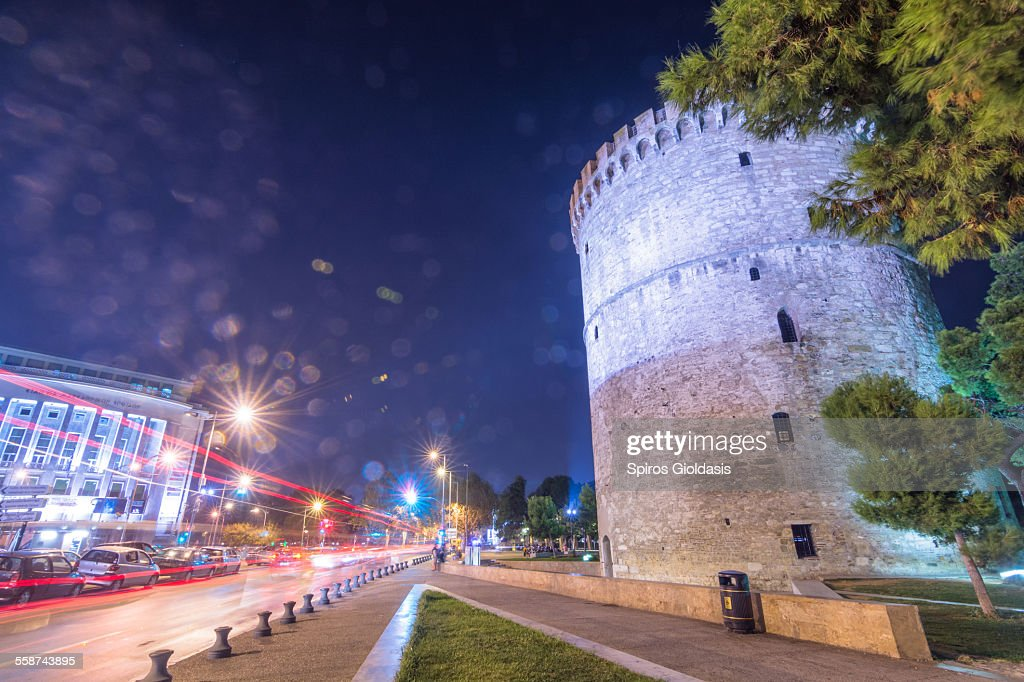 White Tower - Thessaloníki : Stockfoto