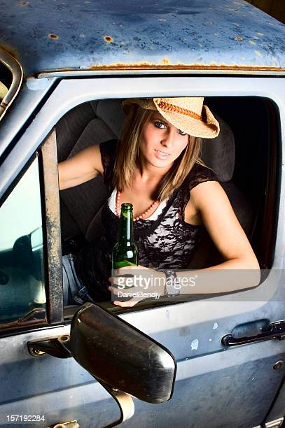 white trash - redneck stock photos and pictures