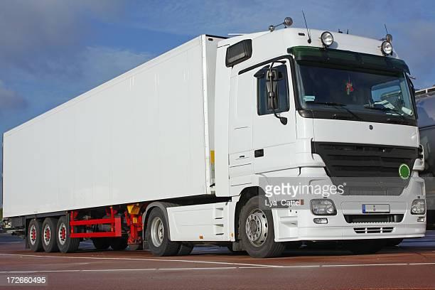 White truck # 1