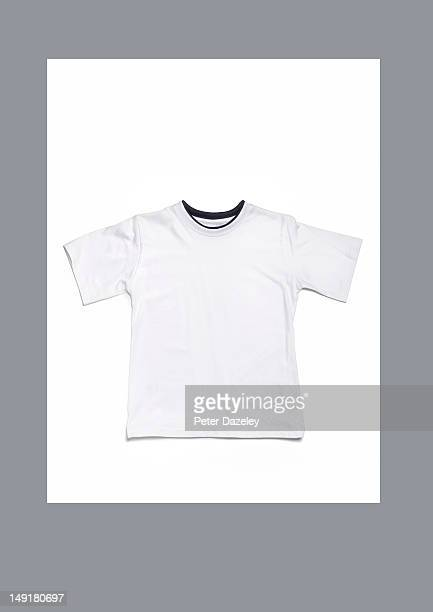 White T-shirt with copy space