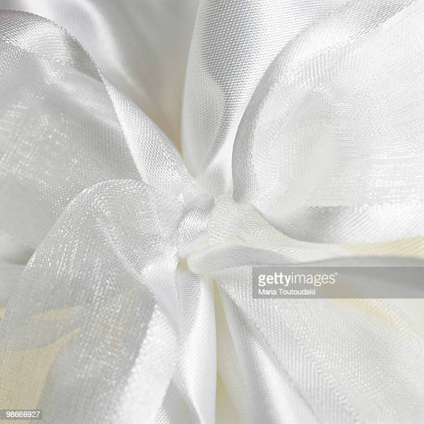 White tulle background