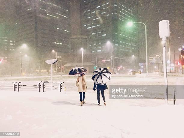 White Valentine Night in Tokyo