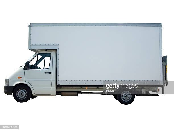 White Van (with path)