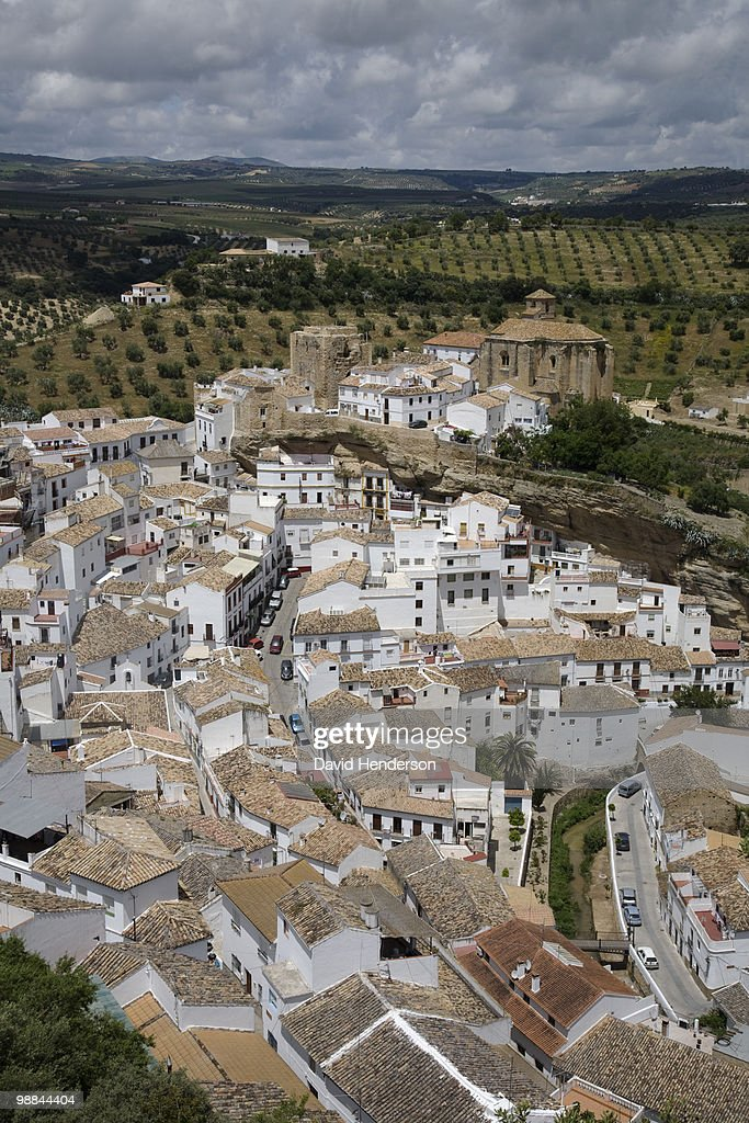 White Village, Andalucia, spain : Stock Photo