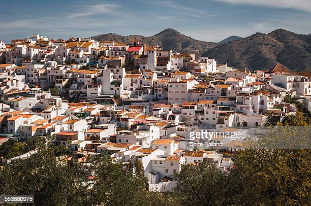 White village in Andalusia