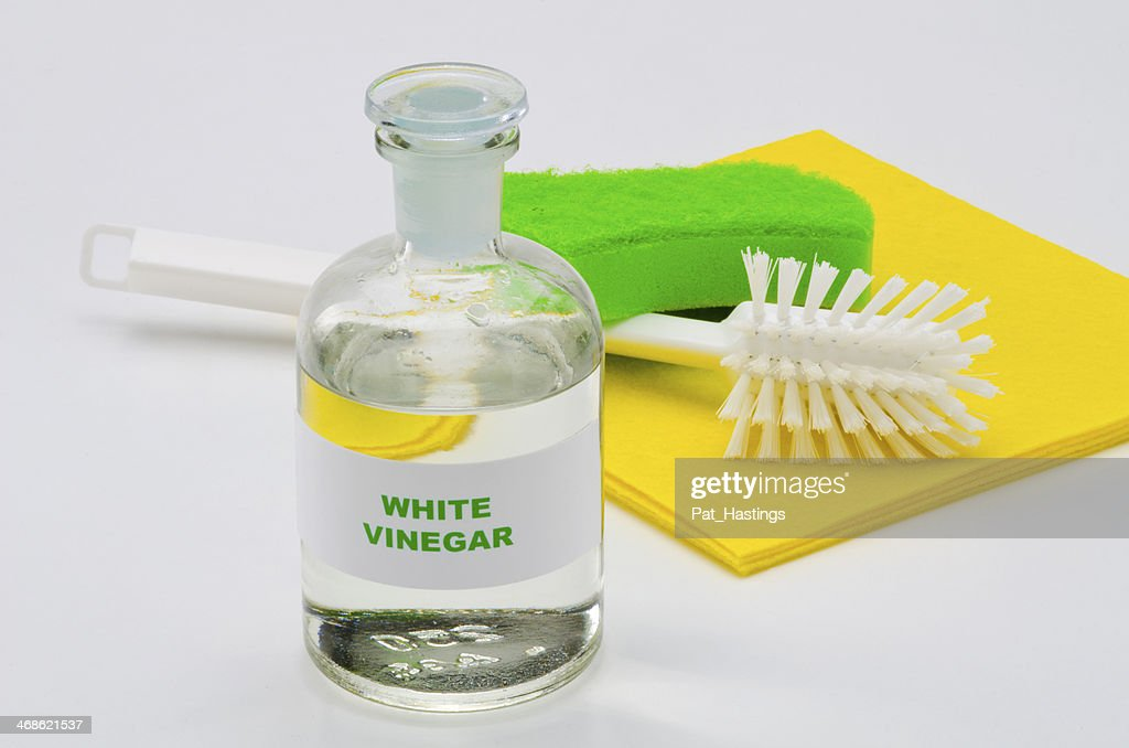 White vinegar : Stock Photo