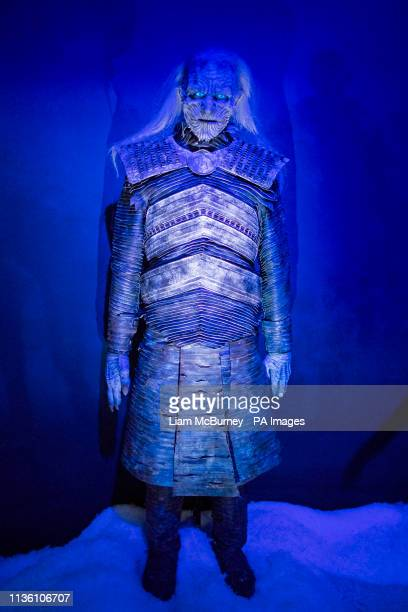 A White Walker costume pictured at the launch of the Game of Thrones touring exhibition at the Titanic Exhibition Centre in Belfast