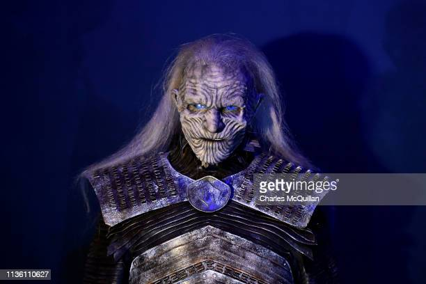 White Walker on display at the Game Of Thrones The Touring Exhibition press launch at Titanic Exhibition Centre on April 10 2019 in Belfast Northern...